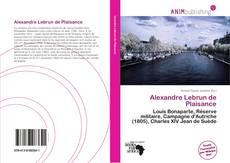 Couverture de Alexandre Lebrun de Plaisance