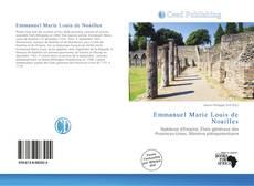 Bookcover of Emmanuel Marie Louis de Noailles