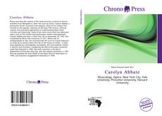 Bookcover of Carolyn Abbate