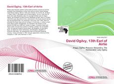 Buchcover von David Ogilvy, 13th Earl of Airlie