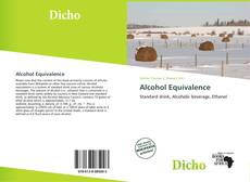 Capa do livro de Alcohol Equivalence