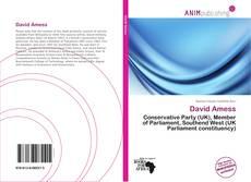 Buchcover von David Amess