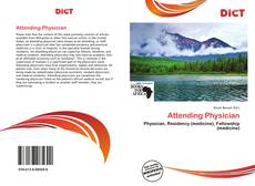 Bookcover of Attending Physician