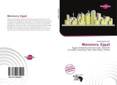 Bookcover of Mansoura, Egypt