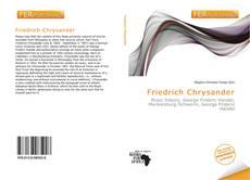 Couverture de Friedrich Chrysander