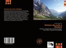 Bookcover of Histoire des Juifs à Modène