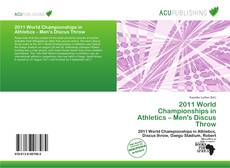 Portada del libro de 2011 World Championships in Athletics – Men's Discus Throw