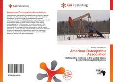 Couverture de American Osteopathic Association