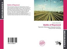 Bookcover of Battle of Raymond