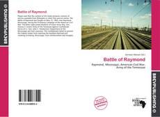 Portada del libro de Battle of Raymond