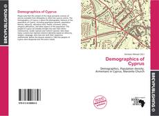 Bookcover of Demographics of Cyprus