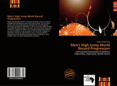 Portada del libro de Men's High Jump World Record Progression