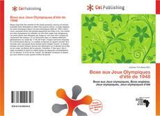 Buchcover von Boxe aux Jeux Olympiques d'été de 1948