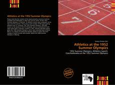 Buchcover von Athletics at the 1952 Summer Olympics