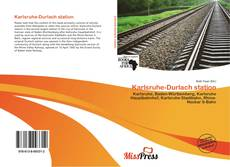 Buchcover von Karlsruhe-Durlach station