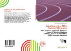 Buchcover von Athletics at the 2004 Summer Olympics