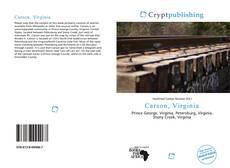 Buchcover von Carson, Virginia