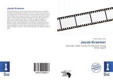 Buchcover von Jacob Kraemer