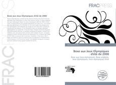 Buchcover von Boxe aux Jeux Olympiques d'été de 2000