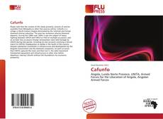 Bookcover of Cafunfo