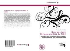 Buchcover von Boxe aux Jeux Olympiques d'été de 2004
