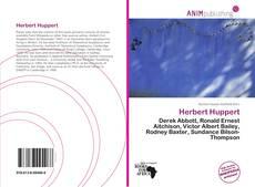 Copertina di Herbert Huppert