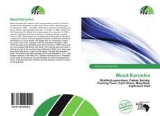 Couverture de Maud Karpeles
