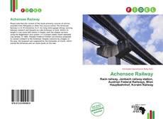 Capa do livro de Achensee Railway