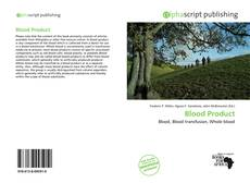 Capa do livro de Blood Product