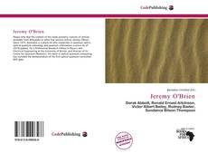 Capa do livro de Jeremy O'Brien