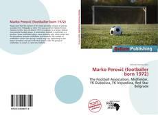 Bookcover of Marko Perović (footballer born 1972)