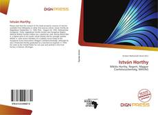 Bookcover of István Horthy