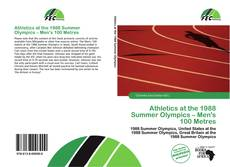 Athletics at the 1988 Summer Olympics – Men's 100 Metres的封面