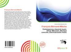 Bookcover of François-Bernard Mâche