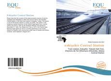 Capa do livro de Eskişehir Central Station