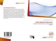Bookcover of José Antonio Navarro