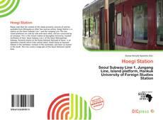 Bookcover of Hoegi Station