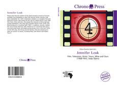 Copertina di Jennifer Leak