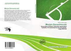 Capa do livro de Marjan Gerasimovski