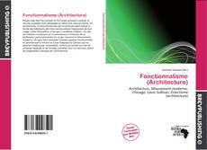 Copertina di Fonctionnalisme (Architecture)