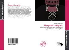 Обложка Margaret Langrick