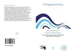 Capa do livro de Test Utilisateur