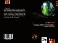 Capa do livro de 31 Aquilae