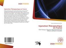 Injonction Thérapeutique en France kitap kapağı