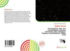 Bookcover of Alpha Arae