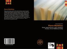 Pierre Matthieu的封面