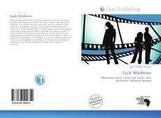 Capa do livro de Jack Mathews