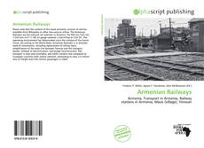 Bookcover of Armenian Railways