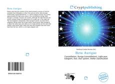 Bookcover of Beta Aurigae