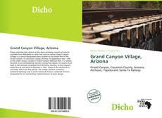 Couverture de Grand Canyon Village, Arizona